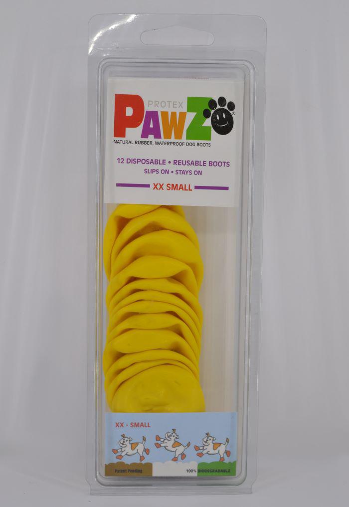 12 darabos citrom vízálló gumi kutyacipő szett 1