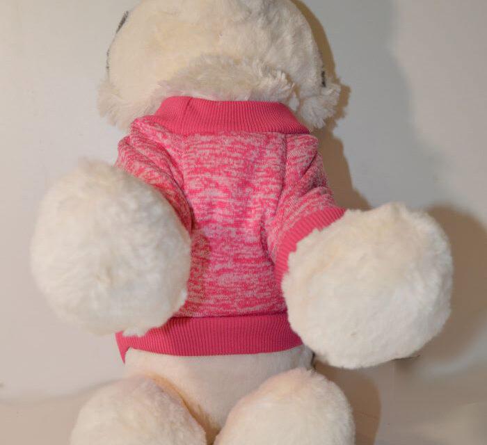 Rózsaszín bélelt kutyaruha 2