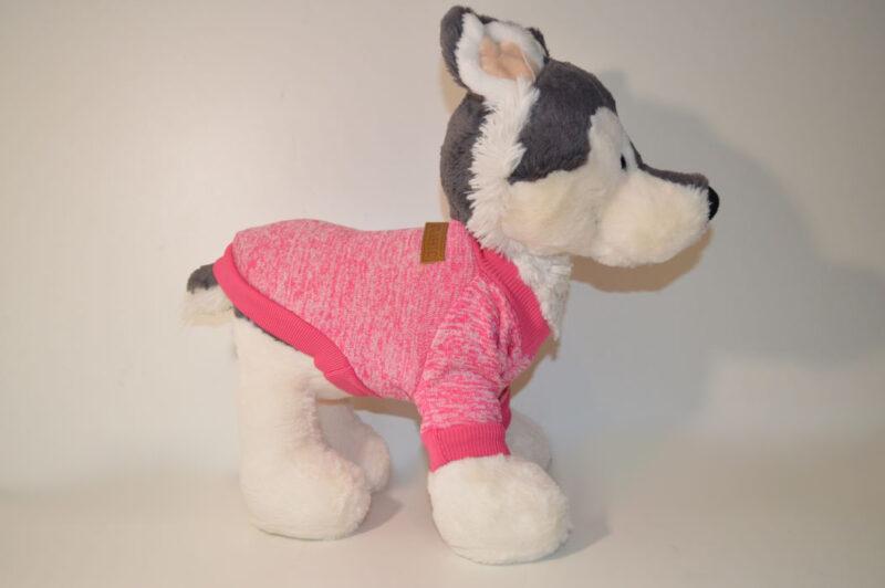 Rózsaszín bélelt kutyaruha 3