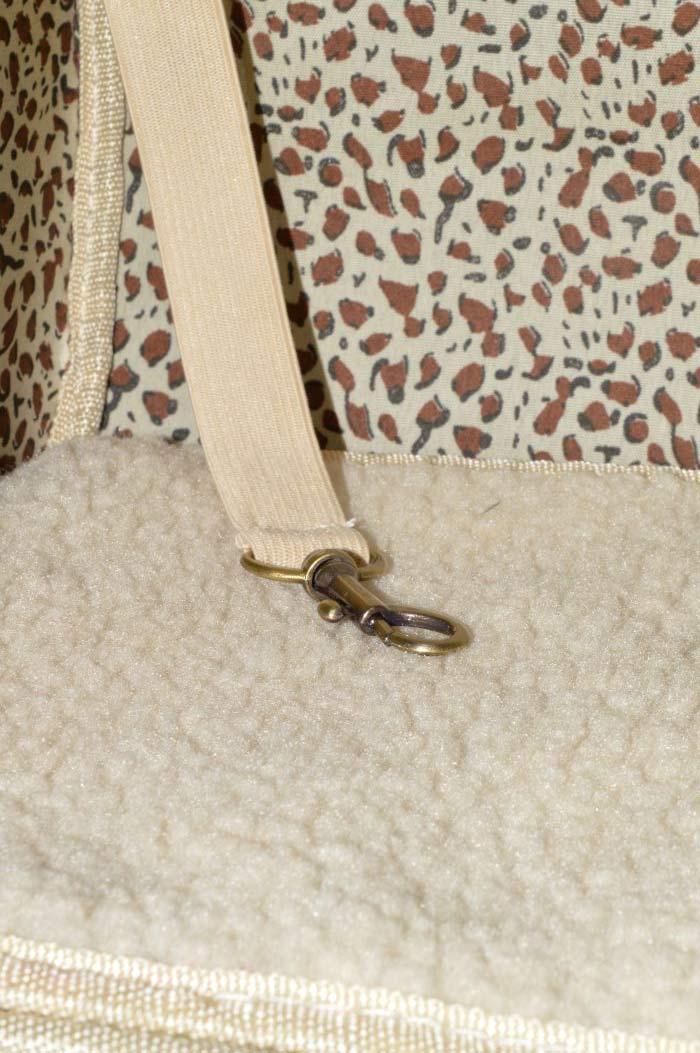 Rózsaszín lakkozott kígyóbőr mintás kutyahordozó táska 2
