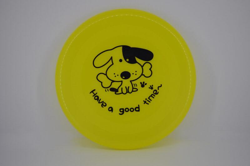 Sárga frizbi kutya játék