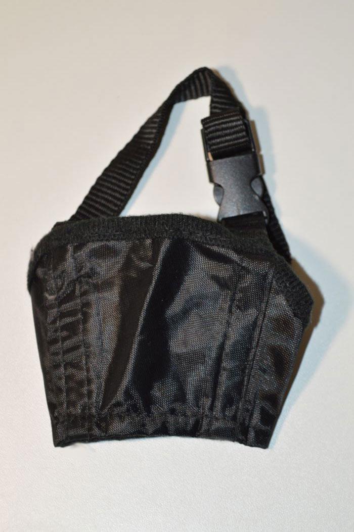 Textil kutya szájszíj fekete 3