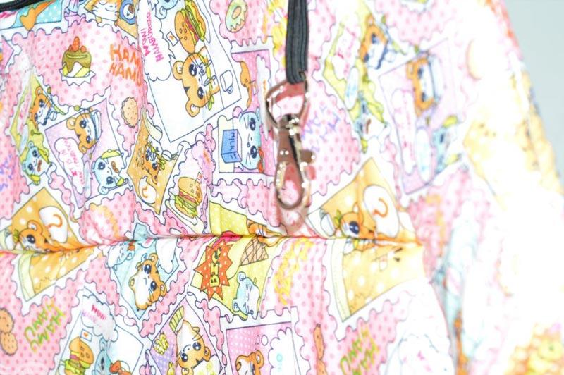 Vidám mintás mosható kutyahordozó táska 2