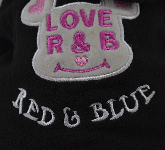 Fekete i love r and b kutyaruha 1