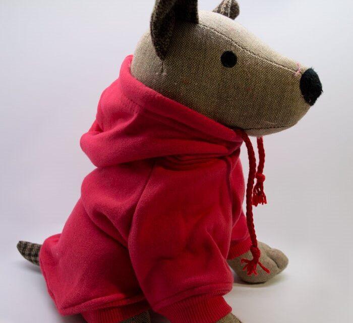 Kapucnis piros kutyapulcsi 1