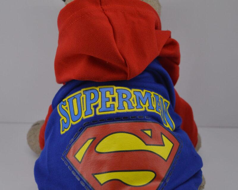 Kapucnis superman kutyaruha pulcsi 1