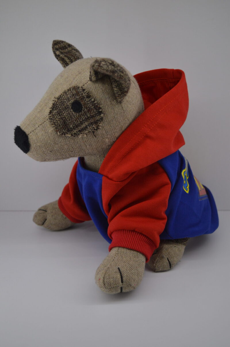 Kapucnis superman kutyaruha pulcsi 2