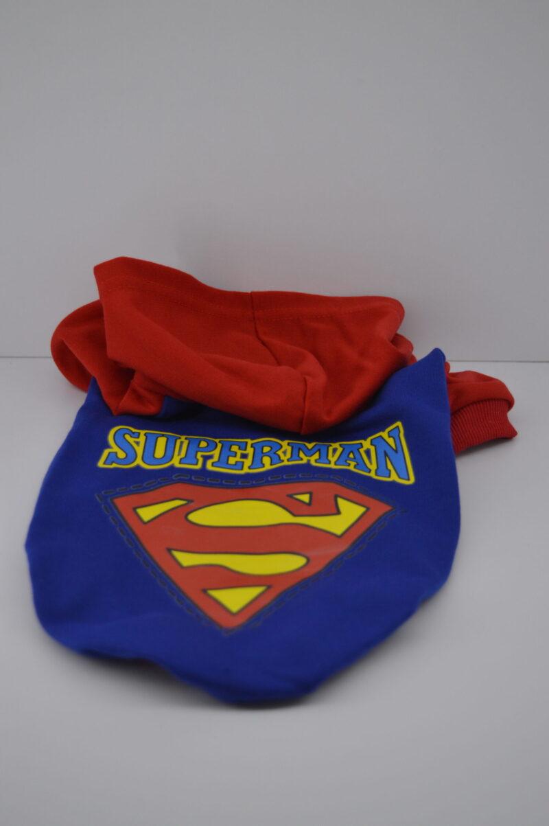 Kapucnis superman kutyaruha pulcsi 4