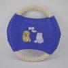 Kék kötélből készült frizbi kutya játék 2