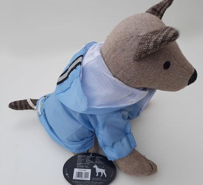 Kék kutya esőkabát 1