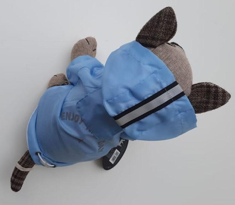 Kék kutya esőkabát 3