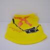 Kendő mintás citrom kutya póló 1