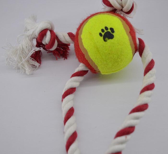 Kötél kutya játék labdával 2jatek-labdaval 1