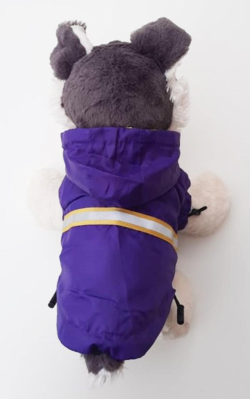 Lila kutya esőkabát 1