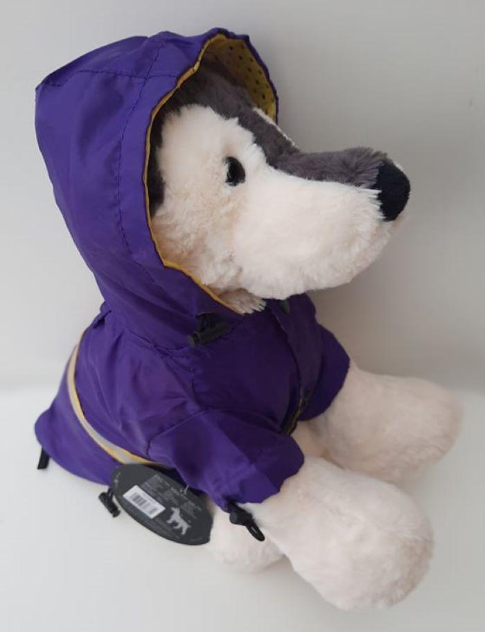 Lila kutya esőkabát 2