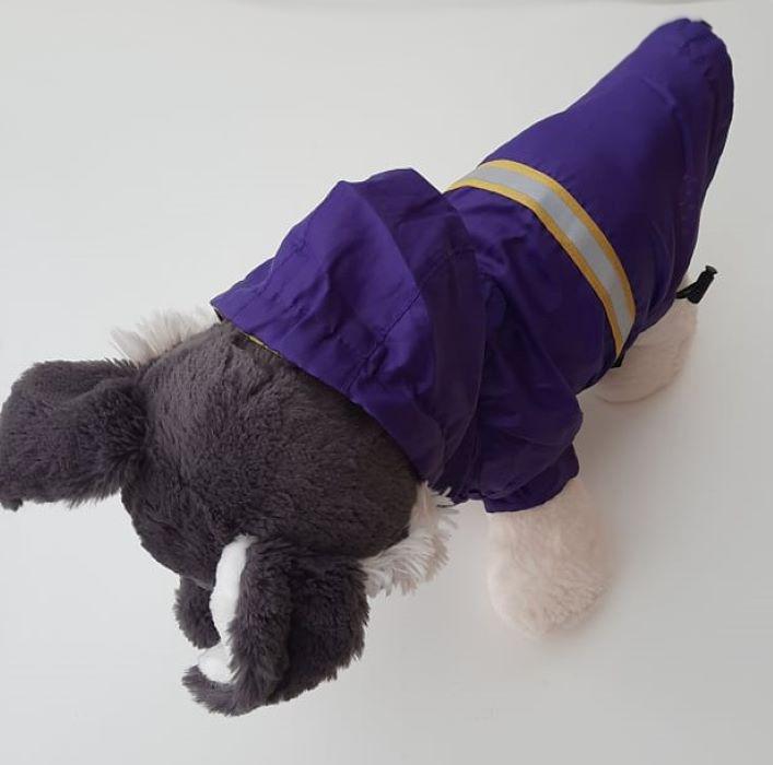 Lila kutya esőkabát 6