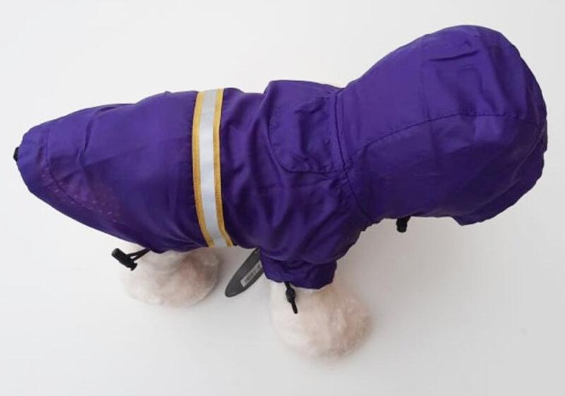 Lila kutya esőkabát 7