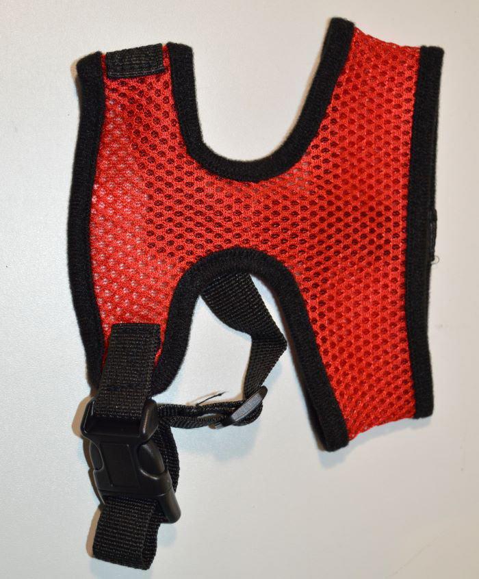 Piros hálós kutyahám 1
