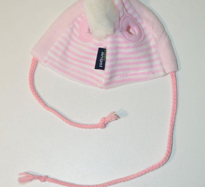 Puppy Angel rózsaszín téli kutyasapka