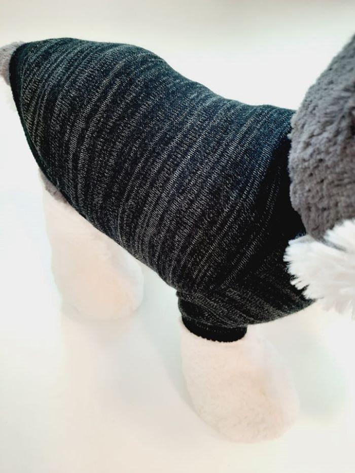 Szürke fekete passzés kutyapulcsi 1