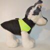 Zöld csíkos kutyamellény 1