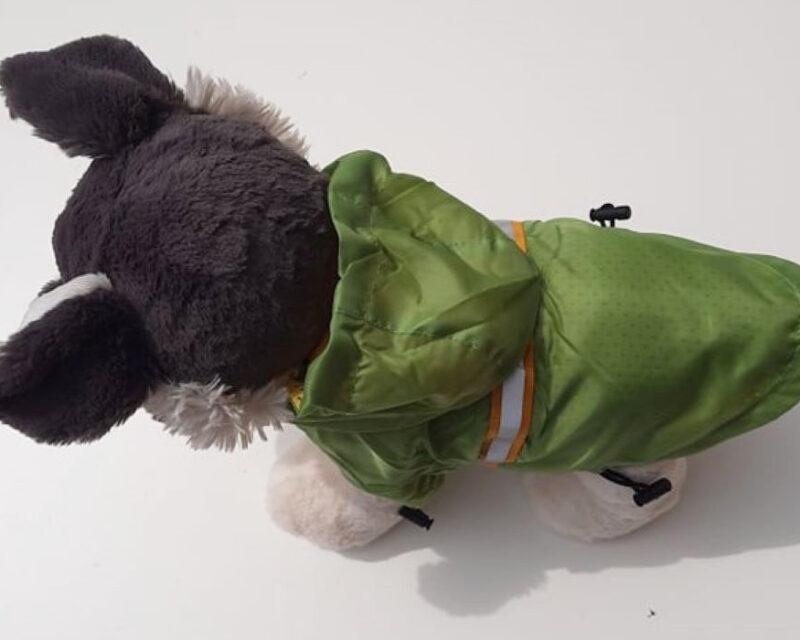 Zöld kutya esőkabát 1