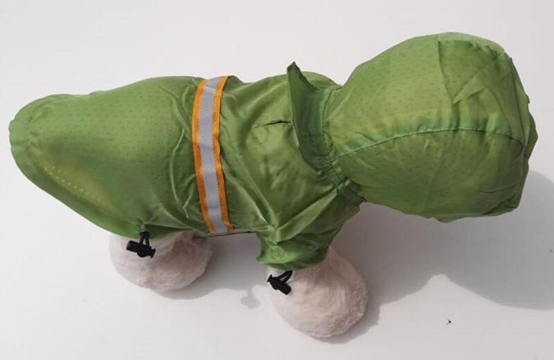 Zöld kutya esőkabát 3