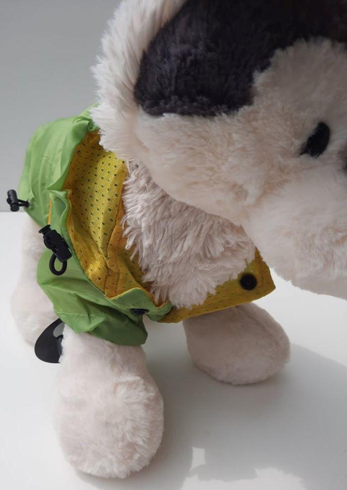 Zöld kutya esőkabát 4