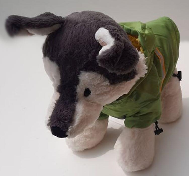 Zöld kutya esőkabát 6