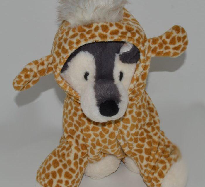 Zsiráf kutyajelmez 2