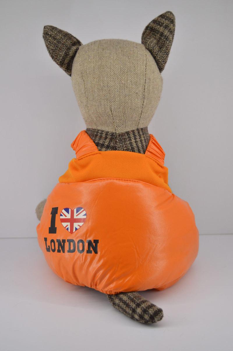 Vízlepergetős narancs kertész kutya nadrág 1