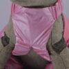 Rózsaszín kertész kutya nadrág 3